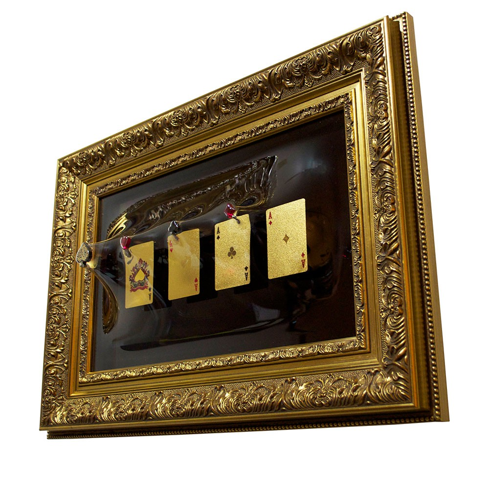 「4 Cards 」 Gold