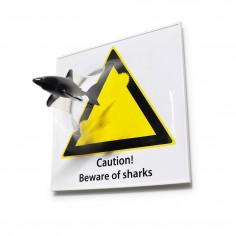 [Beware of sharks]