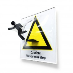 [Watch your step]